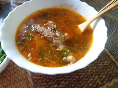 Томатный суп с говяжьими ребрами - DSC02954.JPG