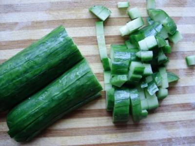 Кукурузный салат со свежим огурцом - P2161004.JPG