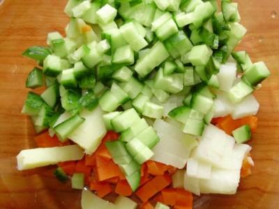Кукурузный салат со свежим огурцом - P2161009.JPG