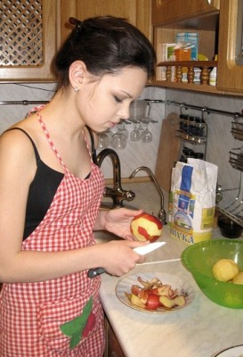 Пирог с яблоками и корицей - №3.jpg