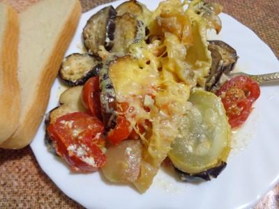 Овощная запеканка с картофелем и майонезом - DSC03451.JPG
