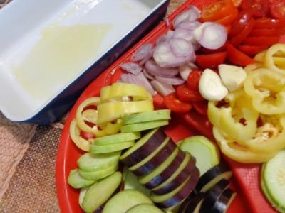 Овощная запеканка с картофелем и майонезом - DSC03438.JPG