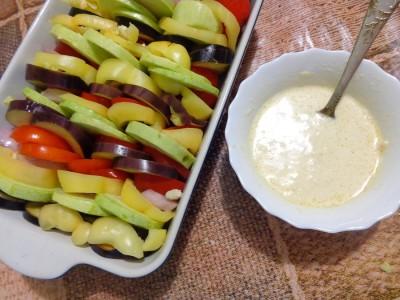 Овощная запеканка с картофелем и майонезом - DSC03442.JPG