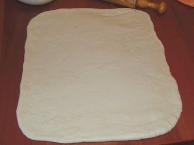 Дрожжевые булочки с творожной начинкой - 4.JPG