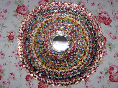Настенные коврики из конфетных оберток - 01_kovrik.JPG