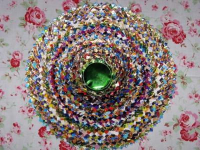 Настенные коврики из конфетных оберток - 05_kovrik.JPG