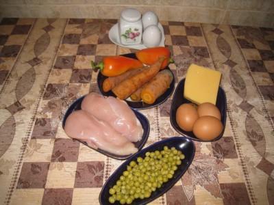 Вариант куриного рулета с овощами - IMG_4012.JPG