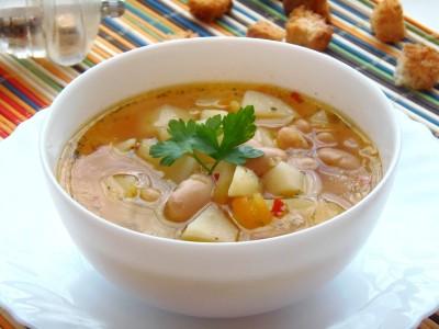 Быстрый суп с фасолью рецепт для Panasonic SR-TMH10  - 9.JPG