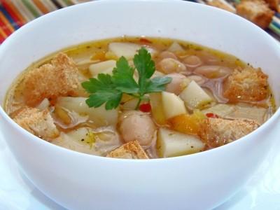 Быстрый суп с фасолью рецепт для Panasonic SR-TMH10  - 10.JPG