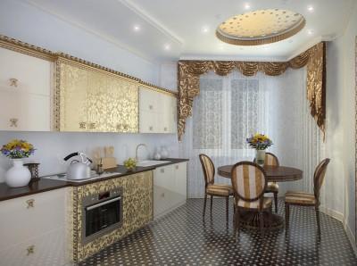 Кухня в стиле ар-деко - 12-dizain-kuxni.jpg
