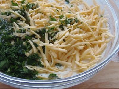 Блинчики с припеком из сыра и зелени - 0.JPG