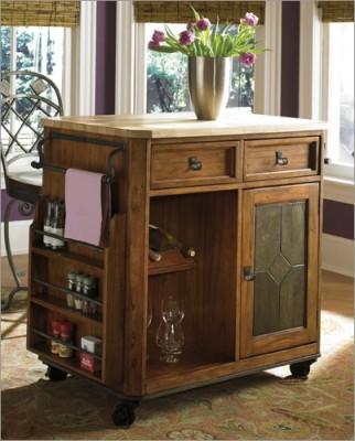 Антикварная мебель на кухне - Antique-Kitchen-Islands-1.jpg