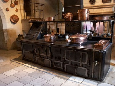 Антикварная мебель на кухне - antique kitchen for Alexxxxx))).jpg