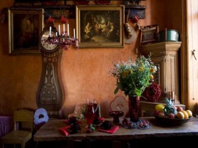 Антикварная мебель на кухне - antique swedish kitchen for Alexxxxx))).jpg