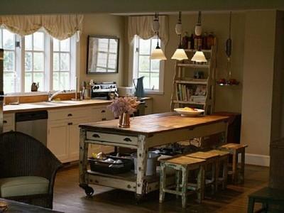 Антикварная мебель на кухне - french antique kitchen for Alexxxx))).jpg