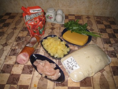Фоторецепт: пицца с ананасами - IMG_4031.JPG