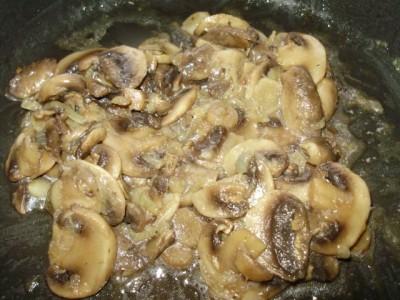 Тушеные грибы с пикантными спагетти - P3130377.JPG