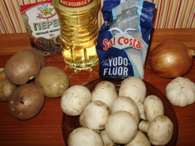 Картофельные «котлетки» с грибной начинкой - P3130351.JPG