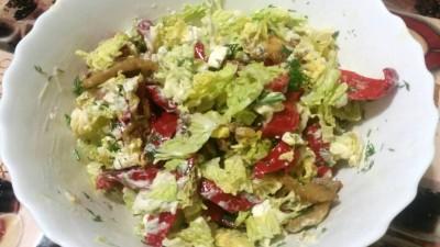Салат с овощами и сыром Фета - SUAD3yle8ec.jpg