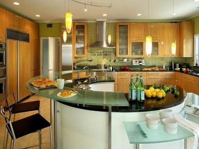 Кухня-остров: модно, но удобно ли? - Awesome-Kitchen-Lighting-Ideas-for-Island.jpg