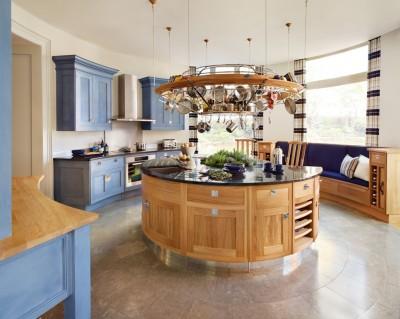 Кухня-остров: модно, но удобно ли? - Round-Kitchen-Island-With-Seating-5-8995.jpg