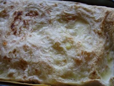 Закрученные овощи в лаваш с белым соусом в духовке - P3280516.JPG