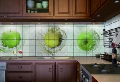 Фартук для кухни: из чего сделать? - фартук.jpg