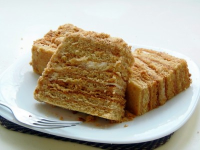 Торт Медовик без яиц - 2.JPG