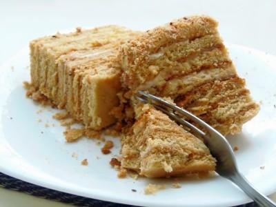 Торт Медовик без яиц - 3 пр.JPG