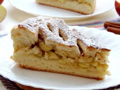 Пирог с яблоками и корицей - 2.JPG
