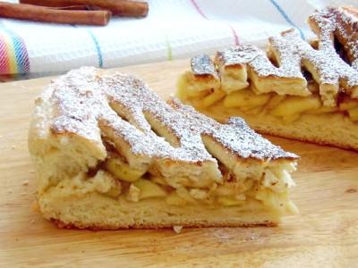 Пирог с яблоками и корицей - 5.JPG
