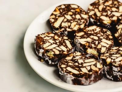 Колбаска из печенья - рецепт как в детстве - 10.jpg