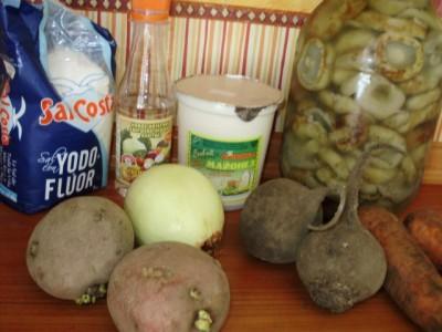 Вегетарианский аналог сельди под шубой - 01_postnaja_seledka_pod_shuboj.jpg