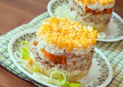 Как сделать салат мимоза оригинально? - mimoza8.jpg