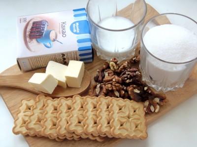 Колбаска из печенья - рецепт как в детстве - 1.JPG