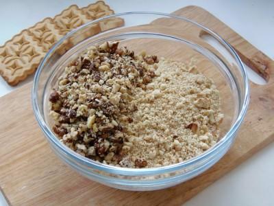 Колбаска из печенья - рецепт как в детстве - 3.JPG