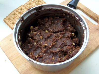 Колбаска из печенья - рецепт как в детстве - 7.JPG