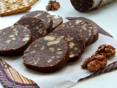 Колбаска из печенья - рецепт как в детстве - 11.JPG
