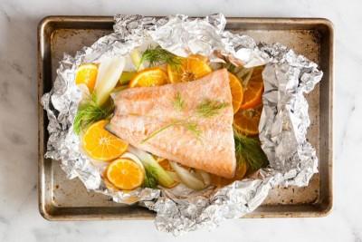 Как приготовить рыбу в фольге в духовке? - clementine-fennel-salmon-3-e1491378595346-800x533.jpg
