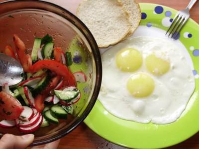 Завтрак – творческий экспромт - P4181664.JPG