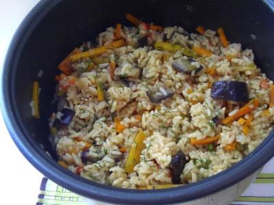 Рис с овощами в мультиварке - 6.JPG