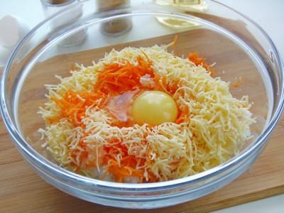 Котлетки рисовые с сыром и овощами - 6.JPG