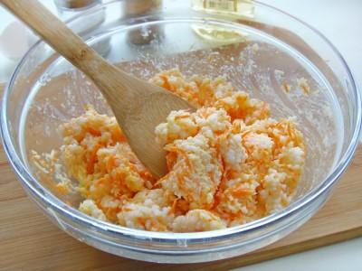 Котлетки рисовые с сыром и овощами - 7.JPG