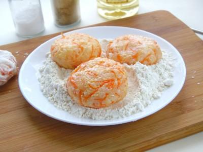 Котлетки рисовые с сыром и овощами - 8.JPG