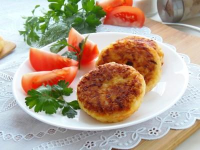 Котлетки рисовые с сыром и овощами - 10.JPG