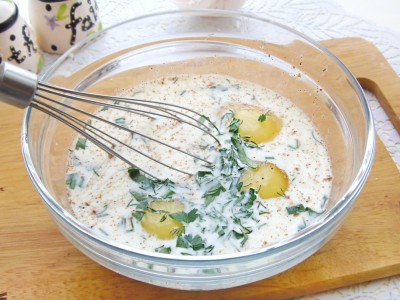 Лаваш запеченный с сырно-яичной начинкой - 5.JPG