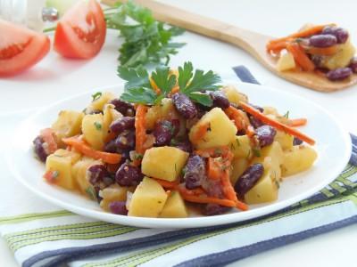 Овощное рагу с картофелем и яблоками - 1.JPG