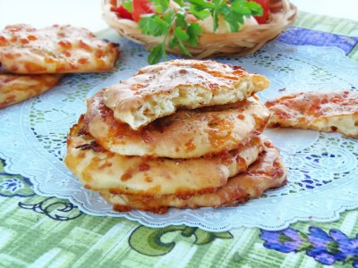 Сырные лепёшки ленивое хачапури  - 9.JPG