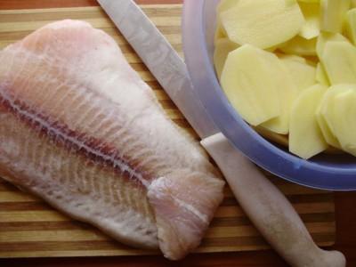 Фоторецепт: рыба с овощами - 01_pangasius.jpg