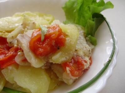 Фоторецепт: рыба с овощами - 08_pangasius.jpg